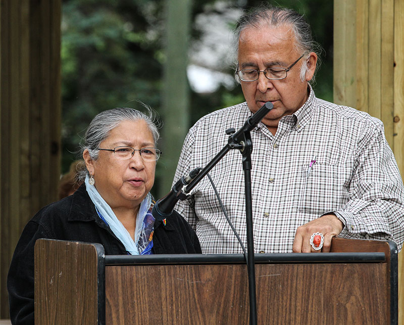 Opening Blessing, Clarence & Barbara Nepinak
